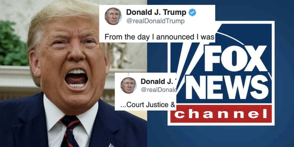 "Trump lashes out at Fox News after their poll shows America wants impeachment: ""they suck."""