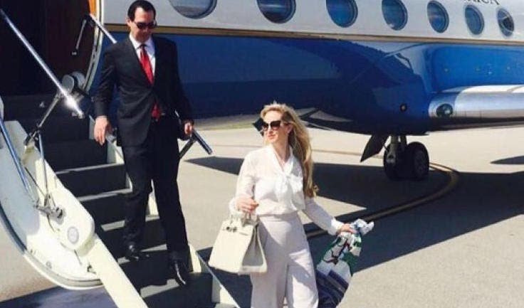 The Official Inquiry Into Mnuchin And His Wife's Travel Scandal On Instagram Just Struck Gold